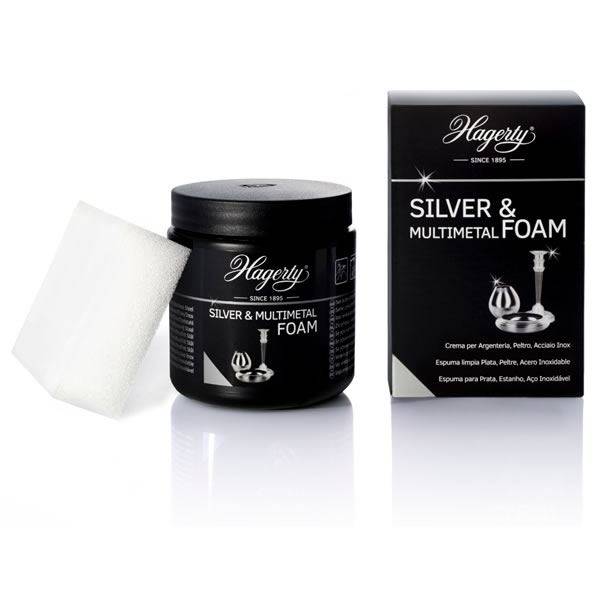Silver and Multimetal Foam di HAGERTY