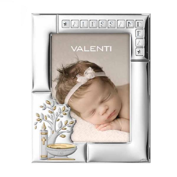 Valenti e Co.: cornice Battesimo