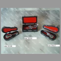 strumenti con custodia
